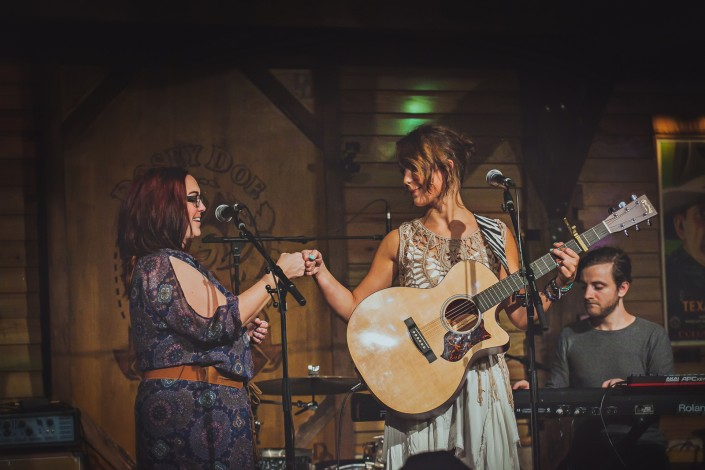 Shellee Coley with Mason Ashley Into the Song CD Release Show